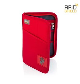 HEYS RFID PASSPORT RED