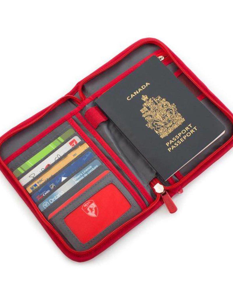 HEYS RFID PASSPORT RED