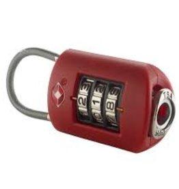 LEWIS N CLARK LOCK RED