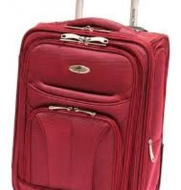 MANCINI LEATHER FEATHER LITE 17 RED UPRIGHT CARRYON