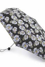 FULTON L553 PINSTRIPE FLOWER SUPERSLIM UMBRELLA