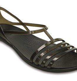 CROCS ISABELLA SANDAL W6 BLACK