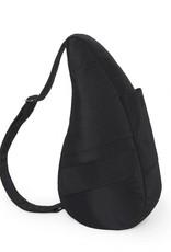 AMERIBAG 7104 BLACK MEDIUM MICROFIBER HEALTHY BACK BAG