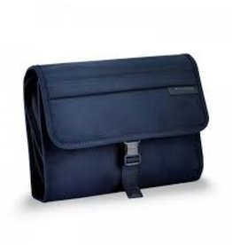 BRIGGS & RILEY NAVY DELUXE TOILETRY