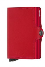 SECRID TWINWALLET RED LEATHER