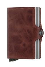 SECRID TWINWALLET RFID BROWN VINTAGE
