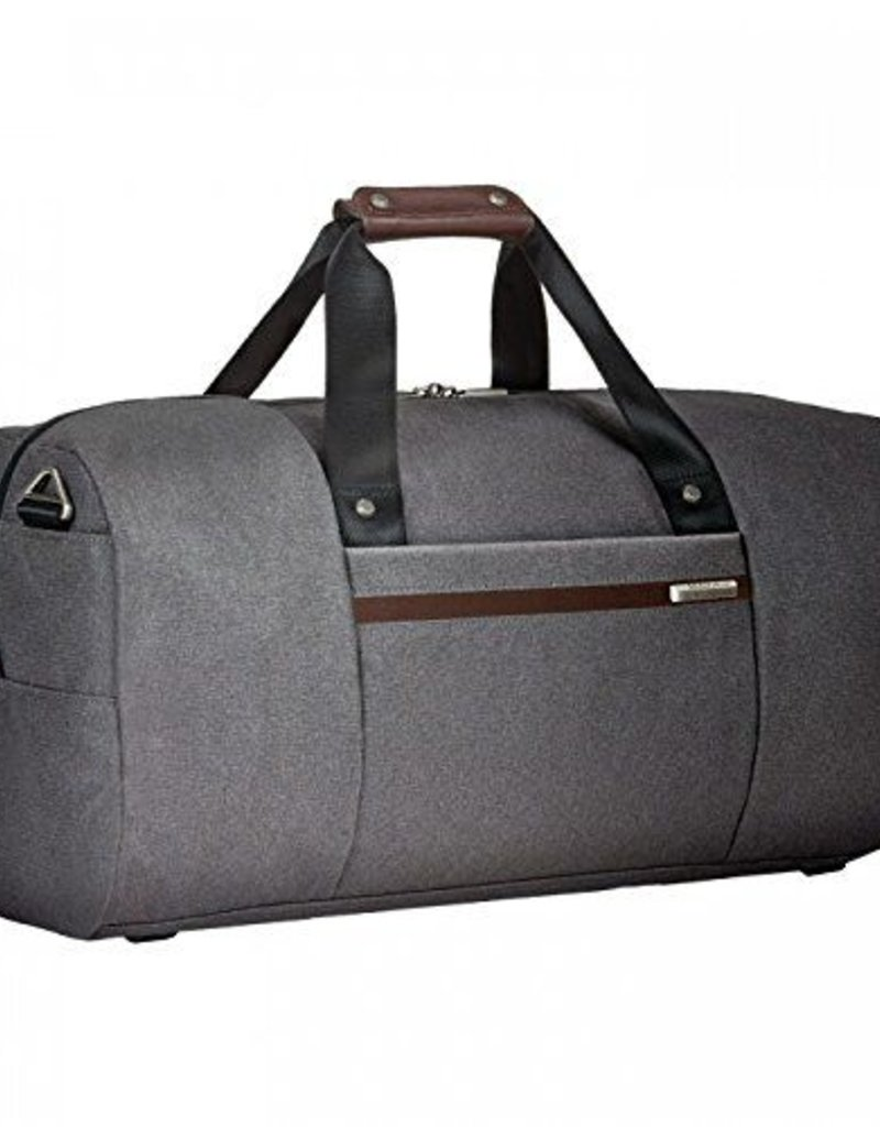 BRIGGS & RILEY Z150-10 GREY DUFFLE