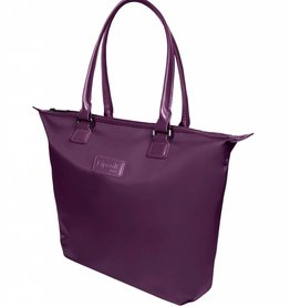 LIPAULT PURPLE TOTE BAG LARGE