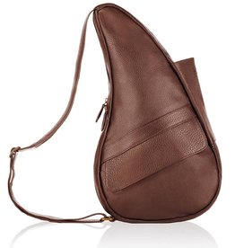AMERIBAG CHESTNUT SMALL LEATHER HEALTHY BACK BAG