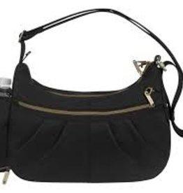 TRAVELON Hobo Travel Bag BLACK