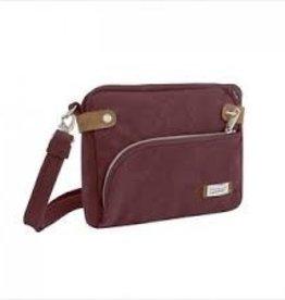 TRAVELON Small Crossbody Bag WINE