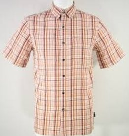ROYAL ROBBINS PLAID SHORT SLEEVE