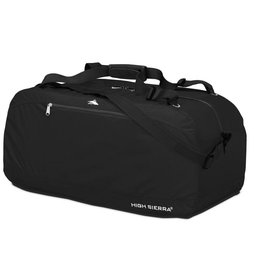 HIGH SIERRA BLACK 36 PACK N GO DUFFLE BAG