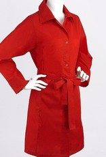FULTON LARGE SHOWERMAC RED RAINCOAT