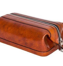 BOSCA AMBER MENS LEATHER TOILETRY