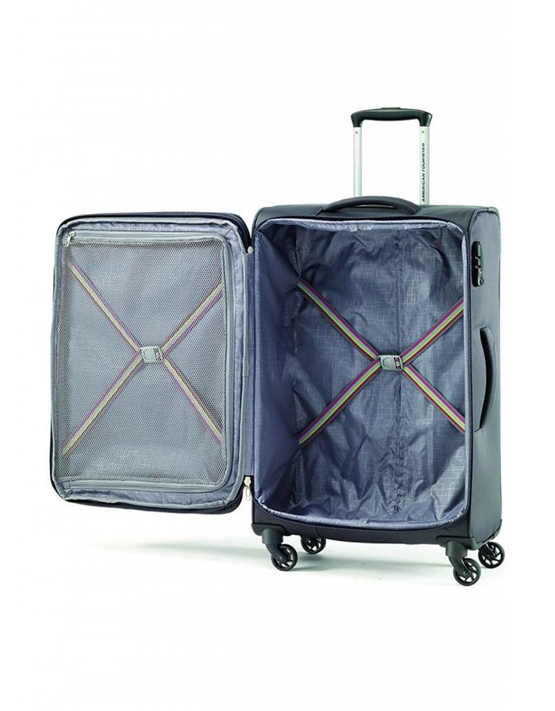 AMERICAN TOURISTER 725252102 SPINNER LARGE AFTERDARK BAYVIEW