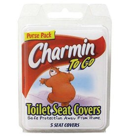 CHARMIN TOILET SEAT COVER X5