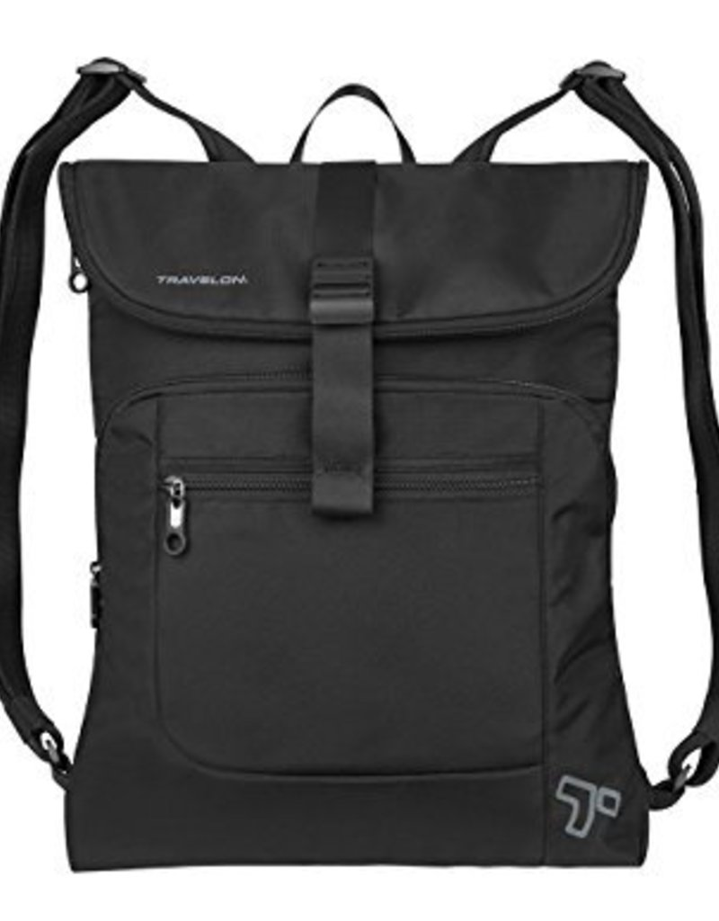 TRAVELON 42954 BLACK BACKPACK