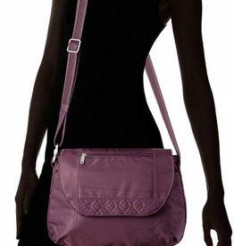 TRAVELON cross-body bag EGGPLANT