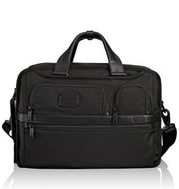 TUMI BLACK THREE WAY BRIEF