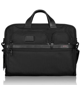 TUMI BLACK NYLON BRIEFCASE