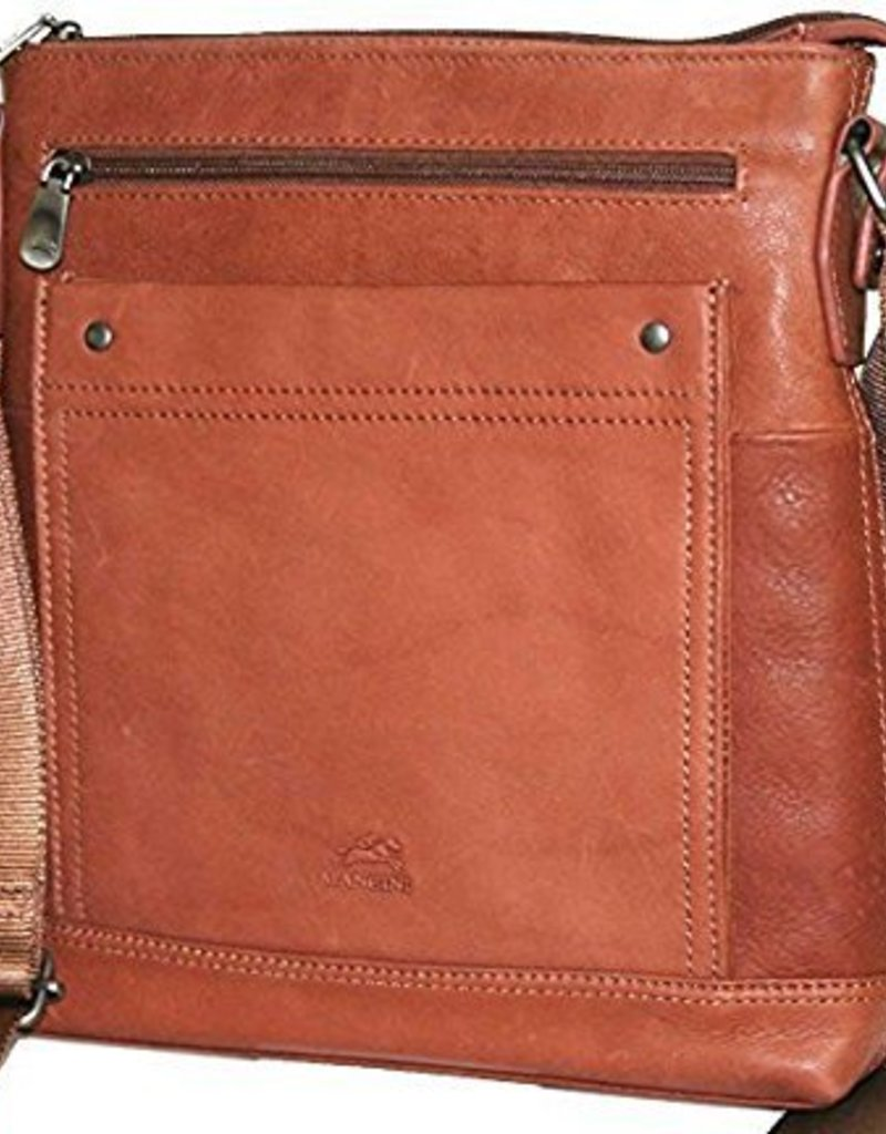 MANCINI LEATHER 98203 BROWN BUSINESS CASE