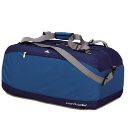 HIGH SIERRA BLUE 36 PACKNGO DUFFLE BAG