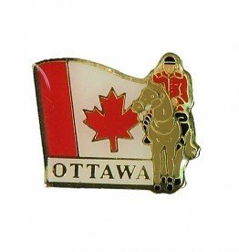 OTTAWA MOUNTIE PIN