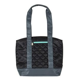 LUGLIFE SCOOTER DOT BLACK LUNCH TOTE