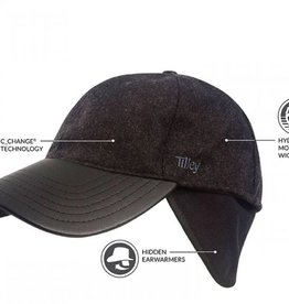 TILLEY BLACK MEDIUM HAT