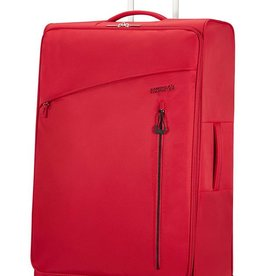 SAMSONITE LARGE RED SPINNER