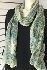 SHARANEL SCARF DRAGON PRINTGREEN