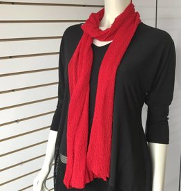 SHARANEL SCARF RED