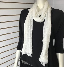 SHARANEL SCARF OFF WHITE