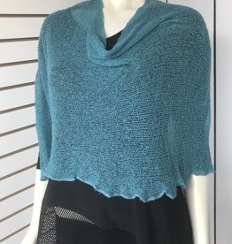 SHARANEL CAPLET SHORT TEAL