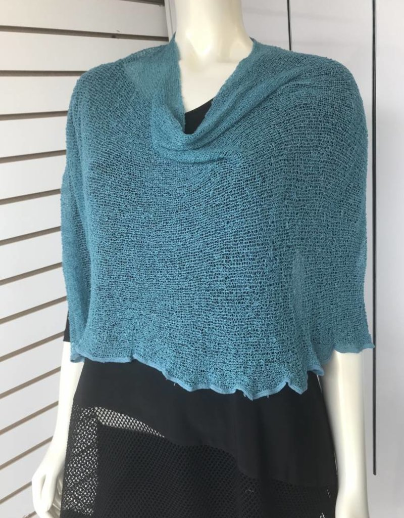 SHARANEL 101 CAPLET SHORT TEAL