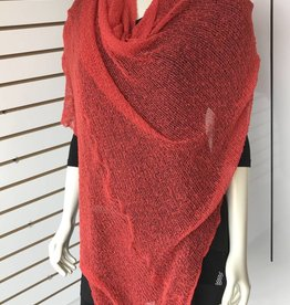 SHARANEL CAPLET LONG DARK CORAL