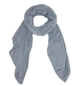 TRAVELON Travel Scarf With RFID Protected Pocket GRAY