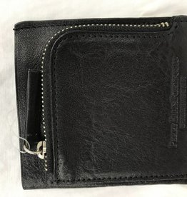 HOLIDAY GROUP BLACK LADIES LEATHER WALLET
