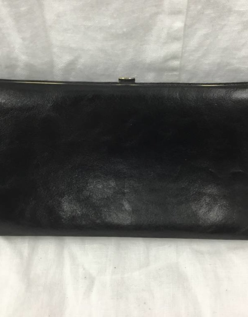 AXESSIMO 239466 BLACK LADIES LEATHER WALLET