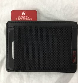 TUMI BLACK MONEY CLIP RFID