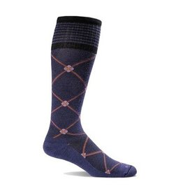 SOCKWELL MEDIUM/LARGE Elevation Purple