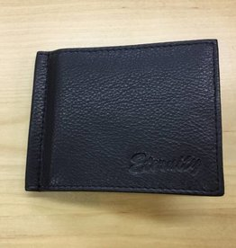 SGI LEATHERGOODS 613 BLACK MONEY CLIP