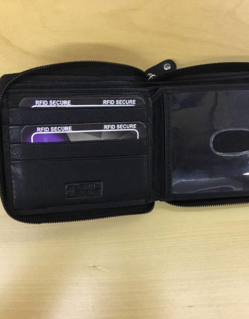 SGI LEATHERGOODS 608 RFID LEATHER WALLET