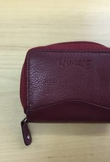 SGI LEATHERGOODS 1011 RED RFID WALLET