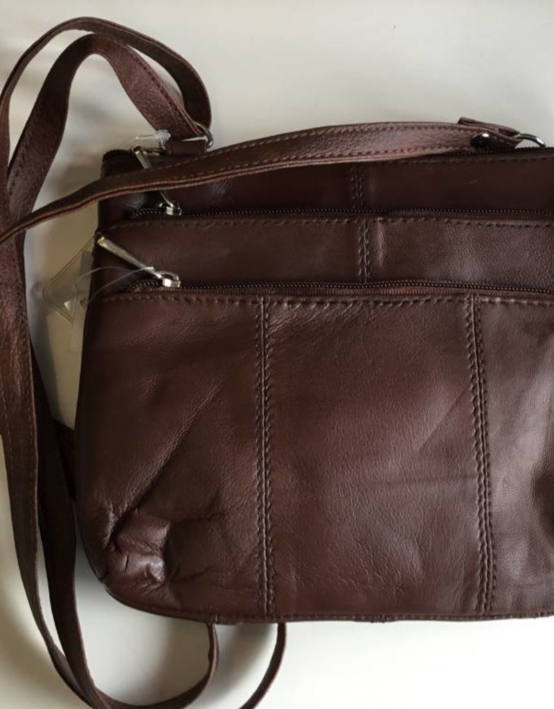 SGI LEATHERGOODS 308 BROWN