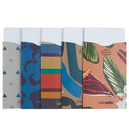 PACSAFE RFID SLEEVE 5 PACK TROPICAL