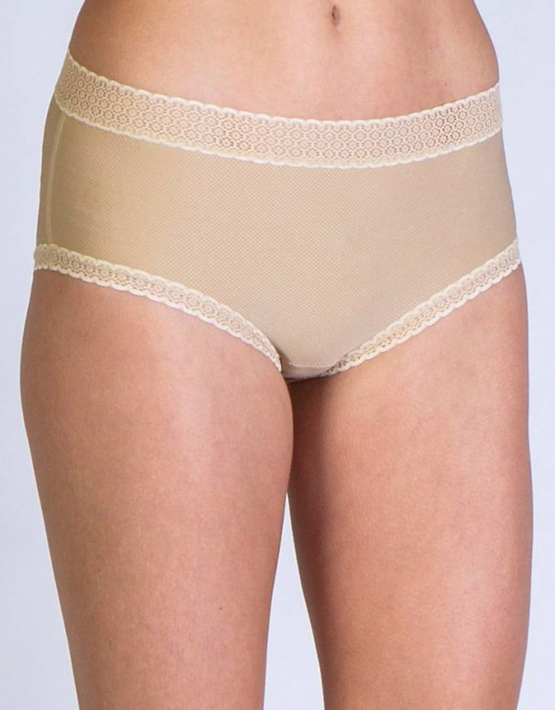EXOFFICIO 22412195 XS NUDE WOMENS GIV N GO LACY FULL CUT BRIEF