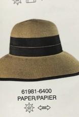 CANADIAN HAT 61981 LADIES SUMMER HAT CARAMEL