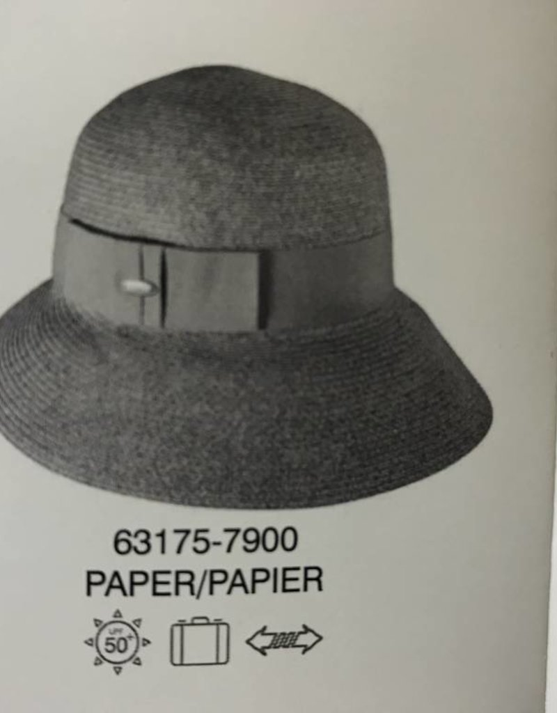 CANADIAN HAT 63175 LADIES SUMMER HAT GREY